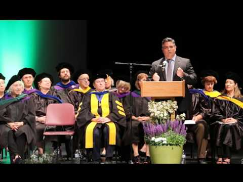 2016 MUIH Commencement Address by Dr. Andrew Heyman