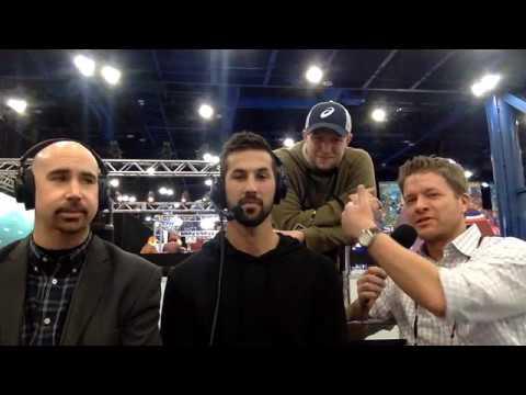Broncos kicker Brandon McManus (and friends) on Radio Row