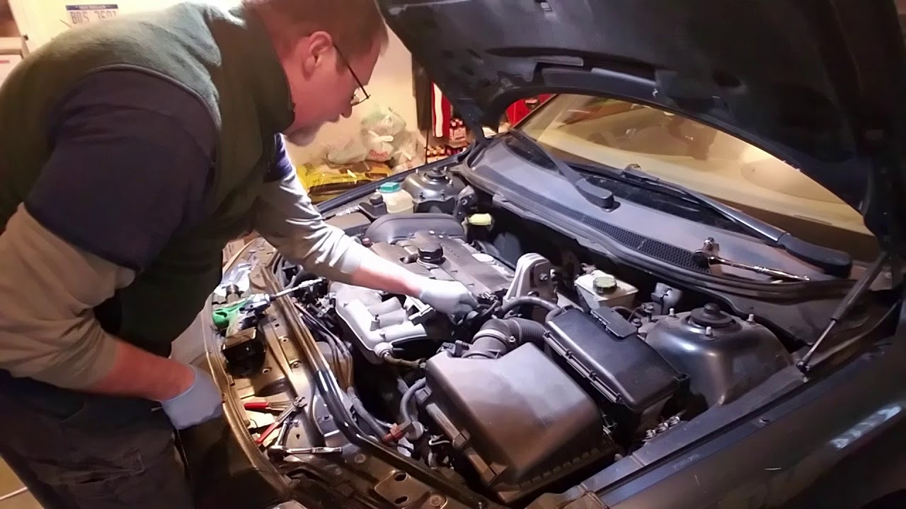 Volvo S60 PCV Replacement 2001-2009 2 5L Engine - YouTube