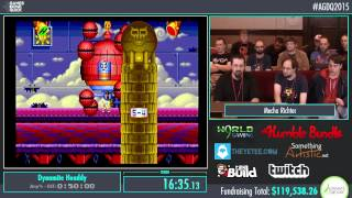 Awesome Games Done Quick 2015 - Part 17 - Dynamite Headdy by Mecha Richter