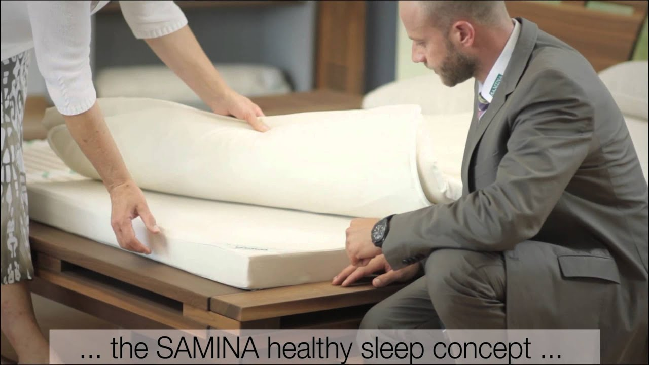 SAMINA - Healthy sleep in its most natural form - YouTube