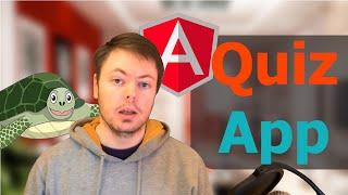 Build An AngularJS Quiz App From Scratch (1/24) - Tutorial Course