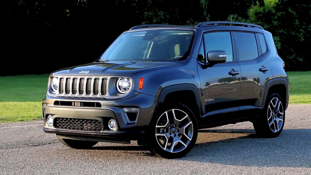 2019 Jeep Renegade Limited Running Footage - YouTube