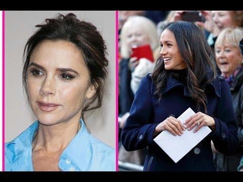 Prince Harry's fiancée Meghan Markle forms secret friendship with Victoria Beckham after wedding
