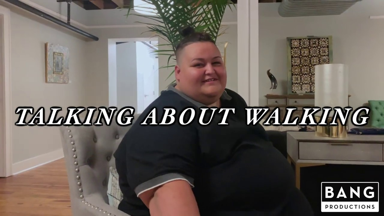 COMEDIANS GORDO LOCO & CATFISH COOLEY: TALKING ABOUT WALKING - REAL LIFE BIG PEOPLE