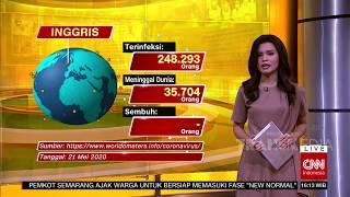 Kabar Terkini Kasus Corona di Dunia, Indonesia Cetak Rekor  | COVID-19 UPDATE (21/5/20)