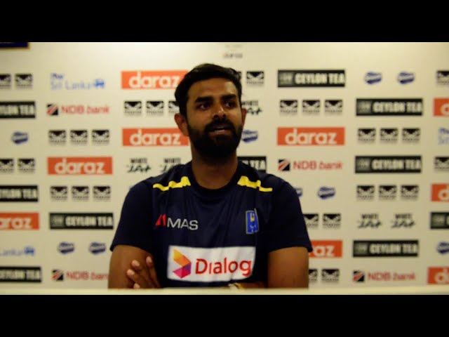 Lahiru Thirimanne | Post Match Virtual Press | SL v ENG 1st Test, Day 4