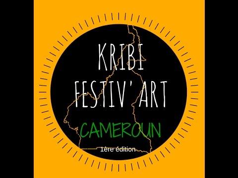 Conférence de presse du kribi festiv art 2016. Reportage Can