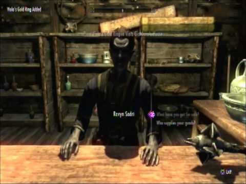Skyrim Walkthrough Miscellaneous Quests 13 Viola s Gold Ring