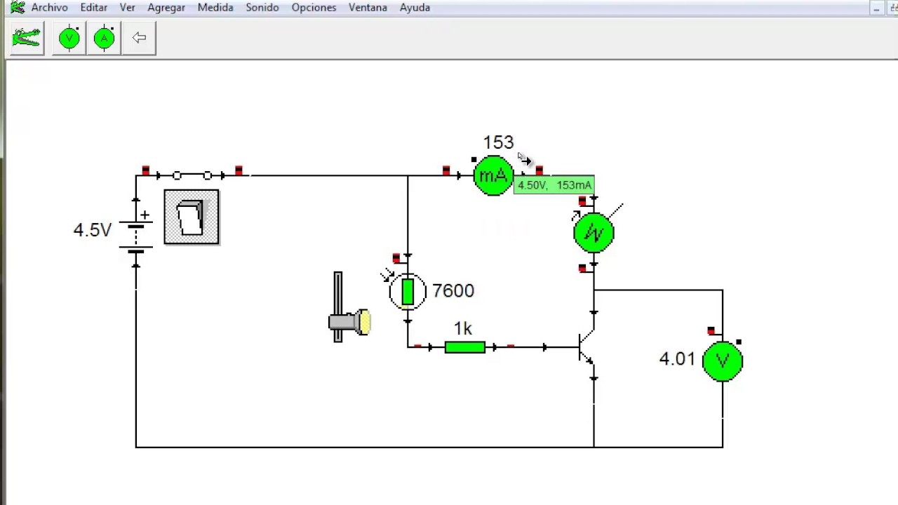 Fine Ldr Circuit With Transistor Photos - Electrical and Wiring ...