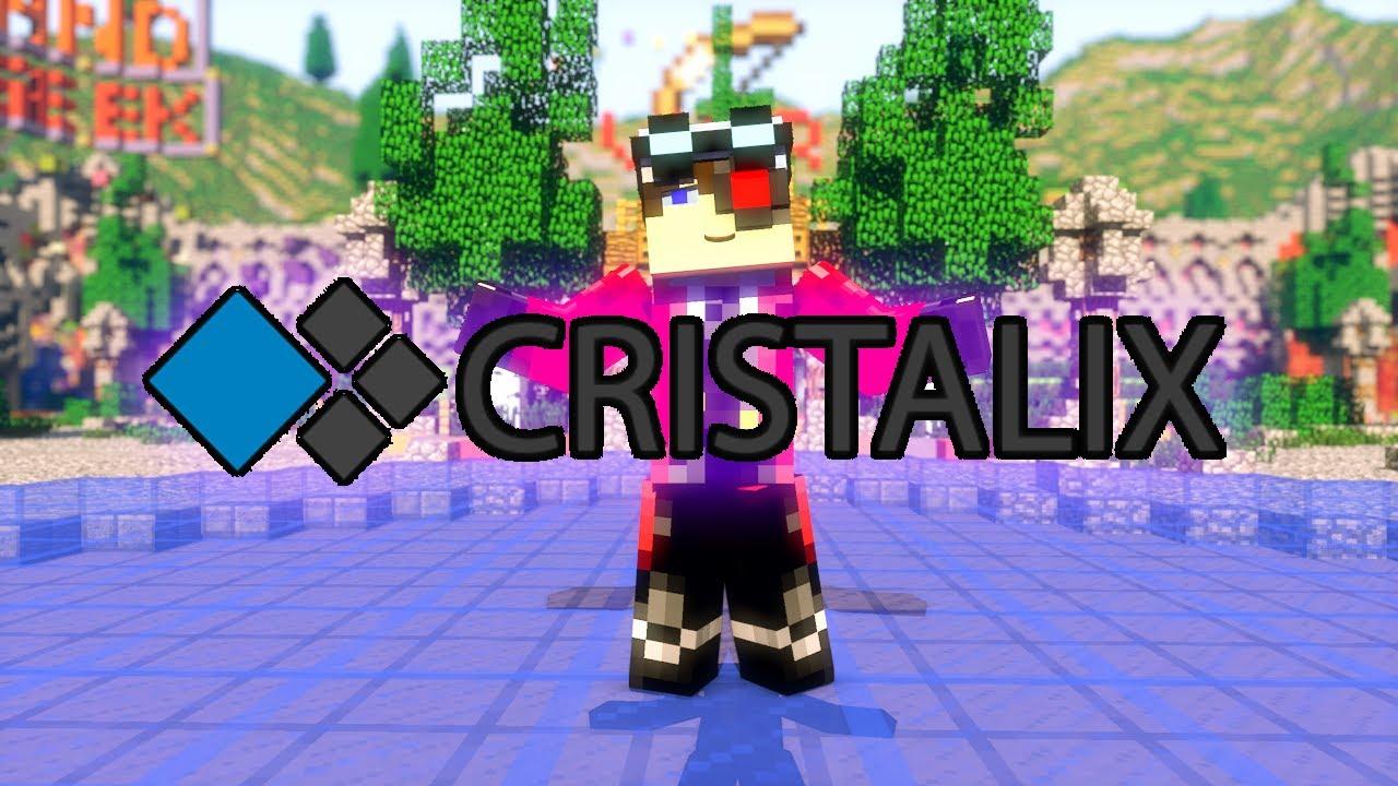 Crystalix minecraft сервер скачать