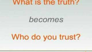 The Inconvenience of Truth (Part One)