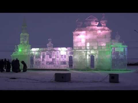 Ёлка 2012 года. Новодвинск и Архангельск