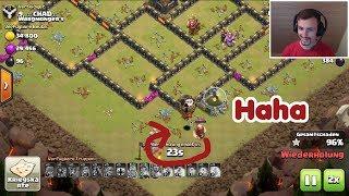 Clash of Clans | CW Loon Parade | Riese verhindert 3. Stern :D - Funny Fail | (Deutsch / German)