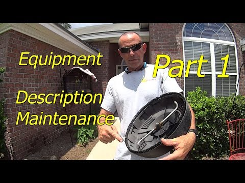 Part 1 Equipment Review & How To Pressure Wash Concrete Sidewalks, Driveways etc - Chemical Free