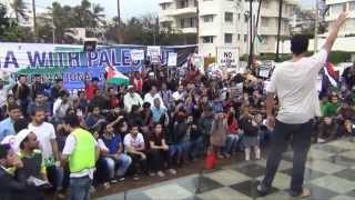 Hundreds of Indians Show Solidarity with Palestine in Mumbai