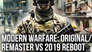 Call of Duty Modern Warfare: Classic Maps Remade on New Tech! Original/Remaster vs 2019 Reboot
