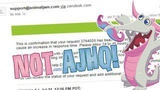 Animal Jam: This is NOT AJHQ! BEWARE THIS NEW HACK!