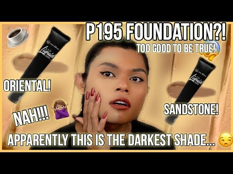 EVER BILENA ALL DAY LIQUID FOUNDATION REVIEW ON DARK SKIN! I JUST HAVE NO WORDS...
