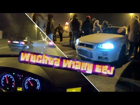 😈 Wuchta Wiary Tej - NAJWIĘKSZY spontaniczny zlot samochodowy w Polsce! 🚗💨 #nocneloty