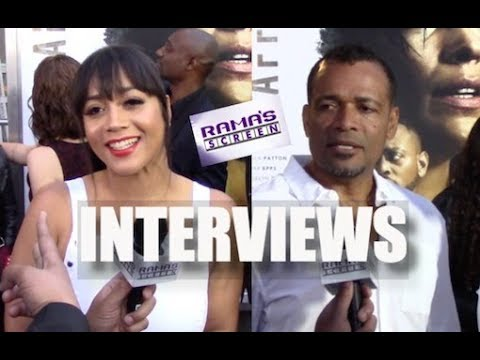 My Interviews with Producer Roxanne Avent and Mario Van Peebles on the 'TRAFFIK' Red Carpet Premiere