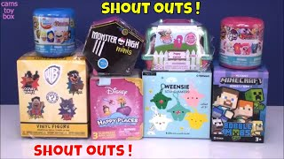 Surprise Toys Opening Fashems MLP Minecraft Monster High Puppy in My Pocket WB Mystery Minis Kids