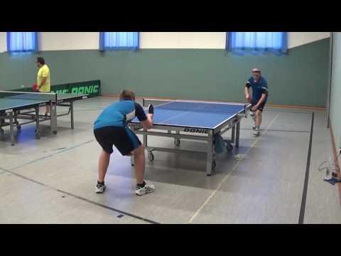 Uwe Werner vs Jens Weinmann Gerabronn Schwabach 20170730 Tischtennis Bavarian Race Stativ T 1 12
