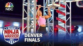 Meagan Martin at the Denver City Finals - American Ninja Warrior 2017