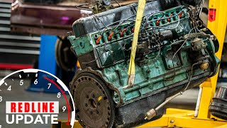 New project! 1951 Buick straight-8 engine needs to be rebuilt | Redline Update #28