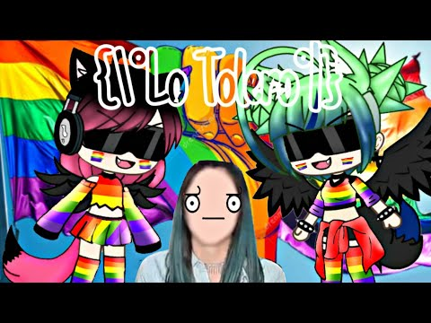 ¡Lo Tolero! 😁📣meme LGBT🏳🌈 | Quenn - Studios 👑 |  Gacha Life