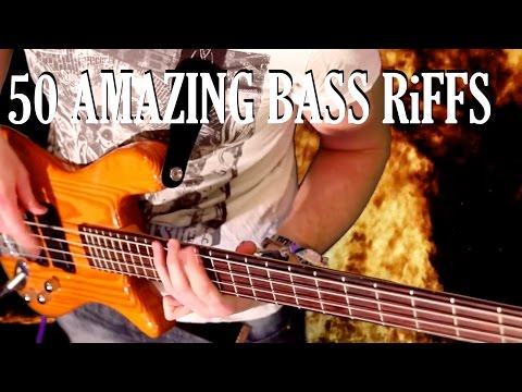Download Youtube: 50 Amazing Bass Riffs - Part One