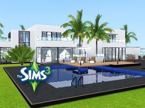 Sims 3 Haus Bauen Let S Build Familienparadies Am Meer Youtube