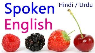 Spoken English through HINdi learning (full course - online)