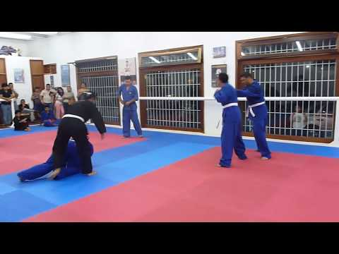 Examen de Kickboxing Eagle Park Defensa Personal (2) Videos De Viajes