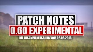 ◤0.60 experimental Patch Notes | DAYZ STANDALONE v0.60 exp. | German Gameplay - Ricoo