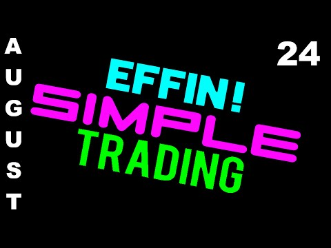 8/24/16 TRADES ON DISPLAY eMini NASDAQ (NQ) – Futures Day Trading // EffinSimpleTrading