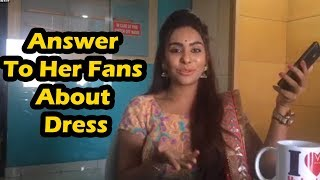 Sri Reddy Answer To Her Fans About Dress