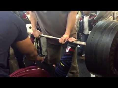 Oggy 230kg benchpress. Final and Winning lift. @ the kingsheath benchpress competition