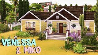 VENESSA JEONG & MİKO hayatımı, ojo YENİ HOUSE | The Sims 4 | Hız Oluşturmak