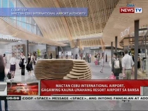 Mactan Cebu International Airport, gagawing kauna-unahang resort airport sa bansa