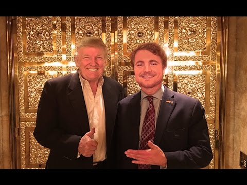 Donald Trump Knigge