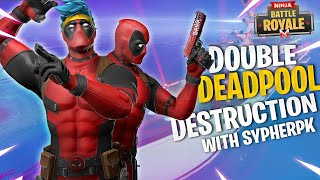 DOUBLE DEADPOOL DESTRUCTION W/ SYPHERPK
