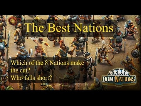 DomiNations The Best Nations