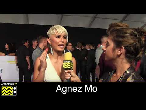 Agnez Mo at the 2017 American Music Awards