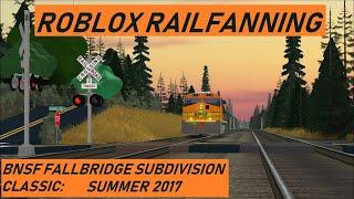 Trains of Roblox Episode 1: BNSF Fallbridge Subdivision - Summer 2017