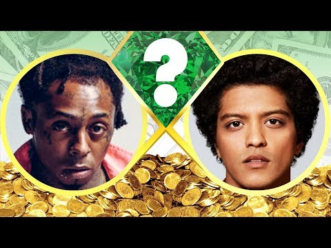 WHO'S RICHER? - Lil Wayne or Bruno Mars? - Net Worth Revealed! (2017)