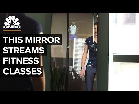 .智慧鏡子 Mirror 來可監測心率和播放音樂