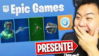 I WON A SET OF EPIC SKINS ET SURPRISED ME!! Bundle GeForce -Fortnite Battle Royale