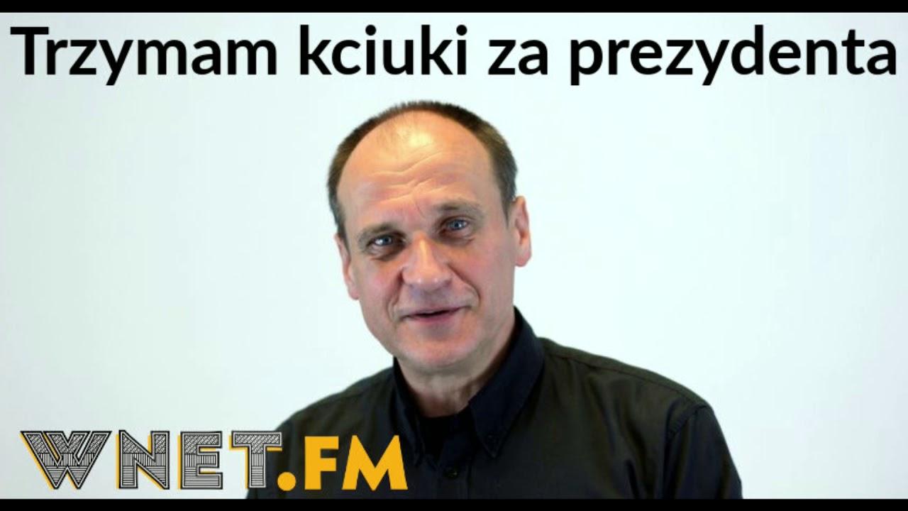 Kukiz: Trzymam kciuki za prezydenta, żeby stał na straży interesów obywateli, a nie partii