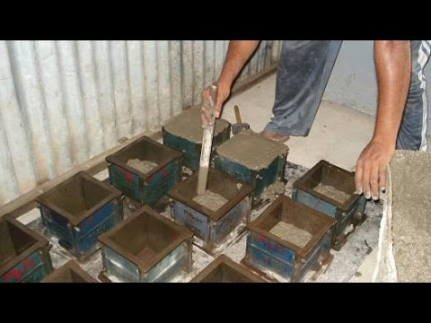 Testing of Concrete  Compressive Strength - Cube Test